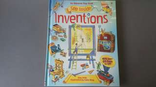 Usborne Flap Book See Inside Inventions