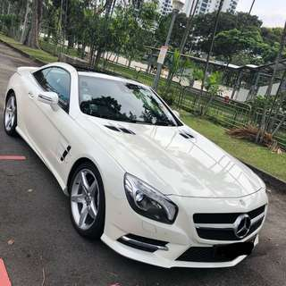 Mercedes-Benz SL500 Auto New Generation