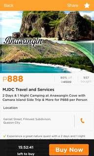 2D & 1N Anawangin Cove
