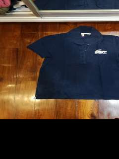 Lacoste Live collared shirt Large