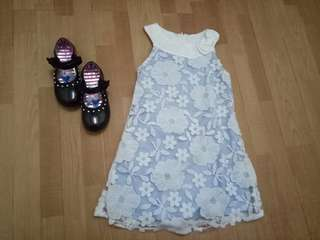 Rare Editions  casual dress with FREE shoes