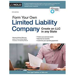 Form Your Own Limited Liability Company Kindle Edition by Anthony Mancuso  (Author)