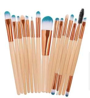 15 pcs make up brush set SALE