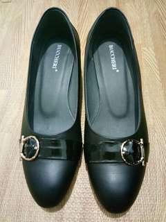 Black Pantofel Shoes