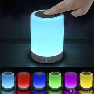 Smart Touch LED Bluetooth Speaker