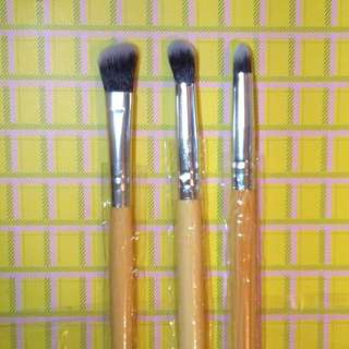 Bamboo Eye Make Up Brush Set