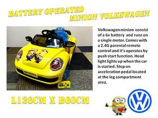INSTOCK‼️ 🔰Minion Volkswagen Beetle🔰