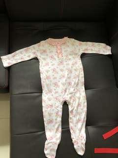 Brand new George baby pyjamas with footies