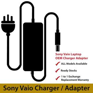 Sony Vaio Laptop NoteBook Adapter Charger