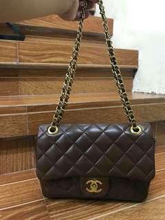 Chanel Flap brown bag