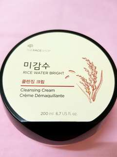 The Faceshop Rice Water Bright Cleansing Cream
