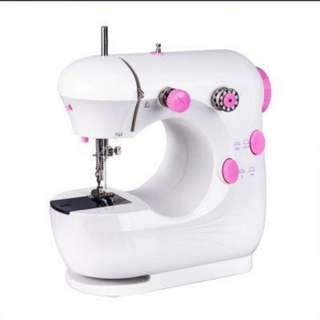 (339) Portable Dual Speed Mini Sewing Machine JYSM-301 (Pink)