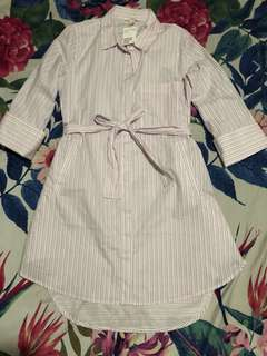 💯 Authentic H&M Light Pink Polo Dress
