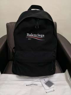 Balenciaga Explorer Backpack bag goyard off white wtaps lv givenchy cdg juNya