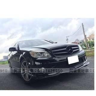 2008年-賓士-C300 (熱門車款.AMG.車況優) 買車不是夢想.輕鬆低月付.歡迎加LINE.電(店)洽