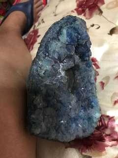 Crystal stone ash tray