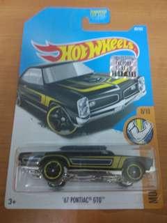 Hotwheels 67' Pontiac GTO