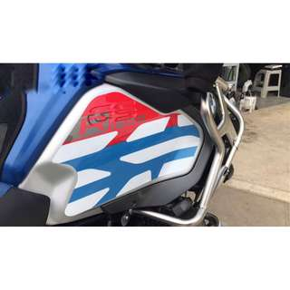 Waterproof sticker decals R1200GSA ADV adventure fuel tank waterproof