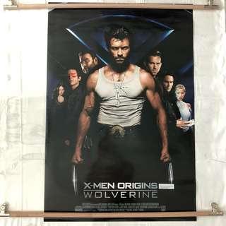 X-Men Origins Wolverine original movie poster