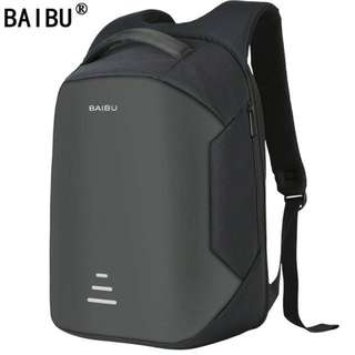 15.6 Laptop Backpack Anti Theft Backpack With Usb Charging
