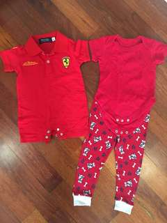 Ferrari Rompers