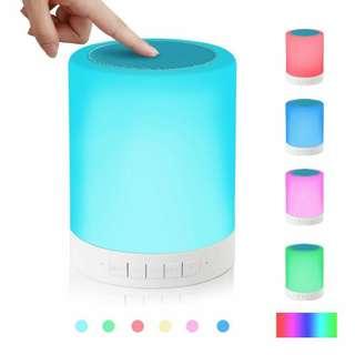 Night Light Bluetooth Speaker!!