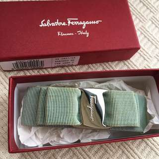 Salvatore Ferragamo  signature ribbon hair clip  @ Made in Italy @ ...
