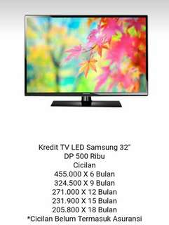 KREDIT TV Samsung 32 inch