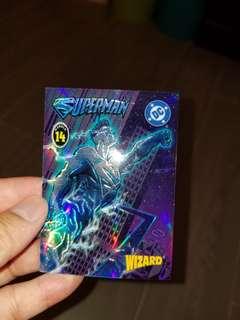 超人人物 trading card (絕版 )