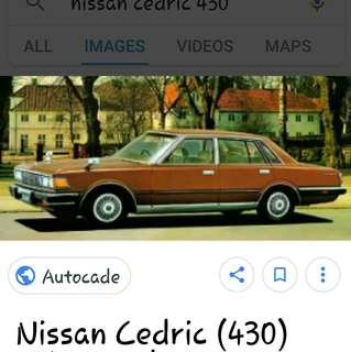 Nissan Cedric 430 Disc Repair Kit