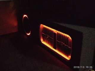 Hiace woofer console box only