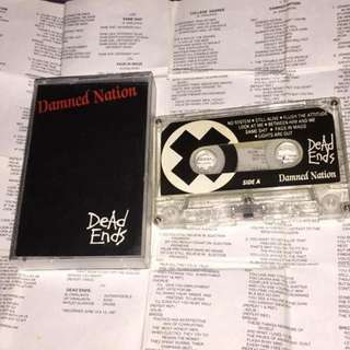 Dead Ends -  Damned Nation (Rare)