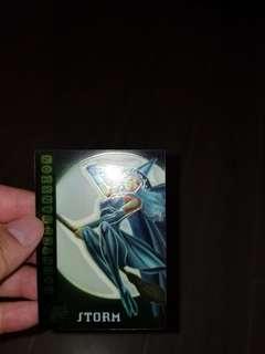 XMEN STORM trading card (絕版)