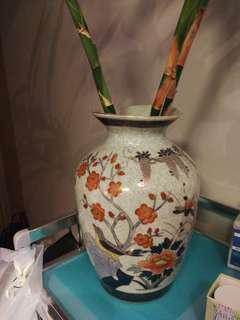 古董花瓶(雀鳥圖案)