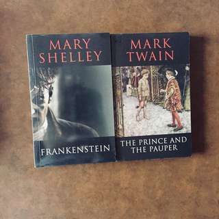 English classics : Frankenstein , Prince & the Pauper