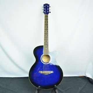 DEVIS DE-215 BL 藍色木吉他*現金收購 樂器買賣 二手樂器吉他 鼓 貝斯 電子琴 音箱 吉他收購 二手樂器