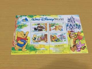 Winnie the Pooh 加拿大 郵票 stamps Walt Disney World Florida