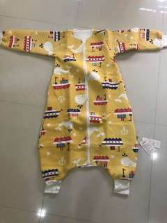 2 x Winter time baby romper / pyjamas