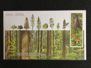 2011 Canada International Year of Forests First Day Cover