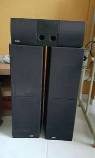 B&W Floor Standing Speakers 2000IFS & 203i