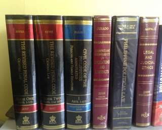 Law books!