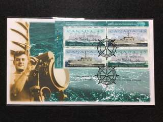 1998 Canada Canadian Naval Reserve First Day Cover