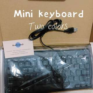 Mini keyboard ☀︎white &black