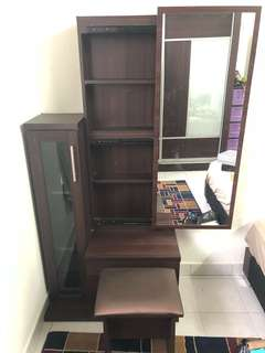 Meja makeup dressing table meja solek
