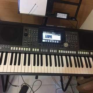 YAMAHA山葉 PSR-S970 專業頂級 61鍵 二手琴 9.9成新 電子琴