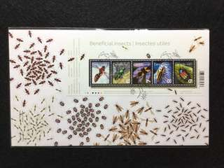 2010 Canada Beneficial Insects First Day Cover