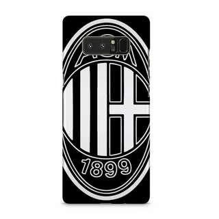 AC Milan Black Logo Samsung Galaxy Note 8 Custom Hard Case