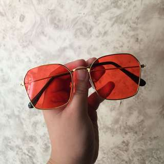 RED LENS SHADES/SUNNIES