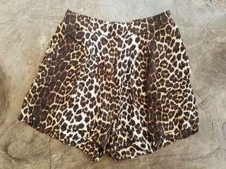 H&M Animal Print Shorts
