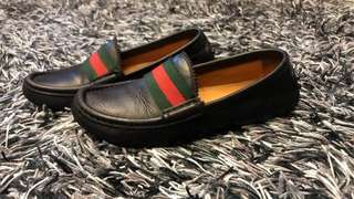 Authentic Gucci Kids Loafers / School Shoes